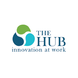 The HUB Logo - Innovation at Work