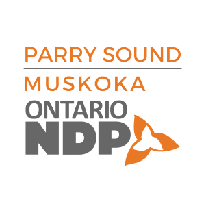 Parry Sound and Muskoka - Ontario NDP logo